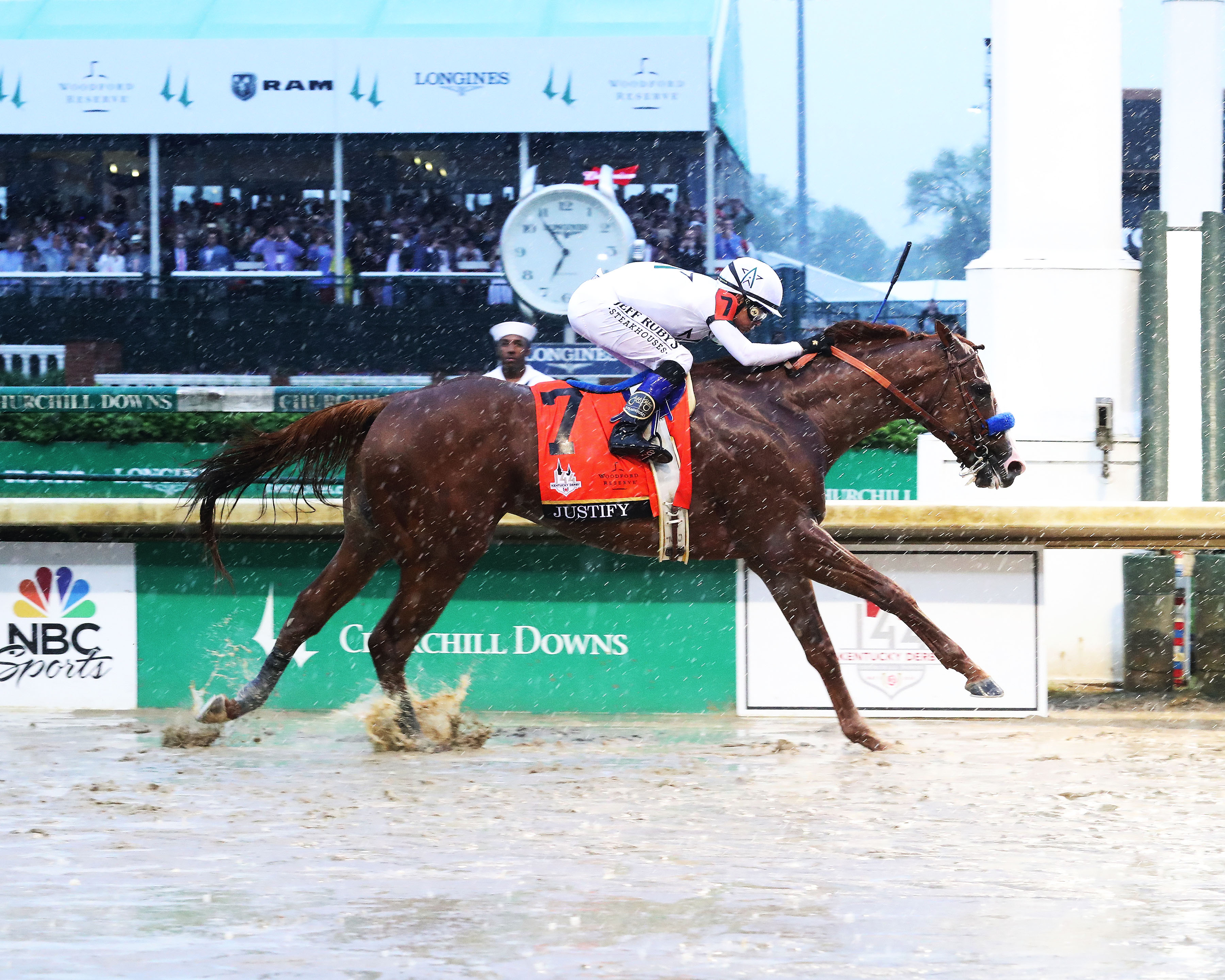 Keeneland September Yearling Sale Graduates Justify Good Magic Run 1 2 In 144th Kentucky Derby Keeneland