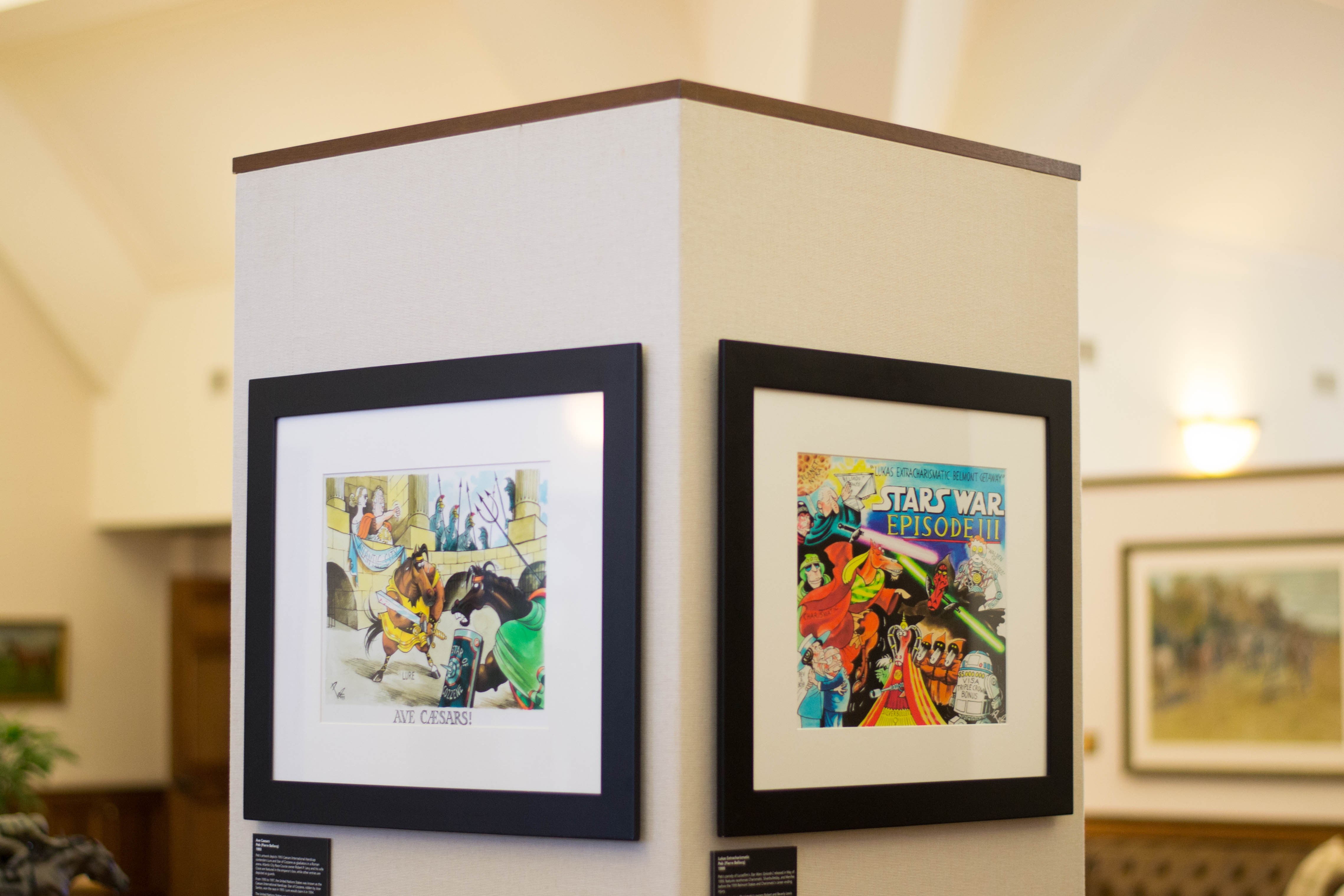 Peb collection at the Keeneland Library