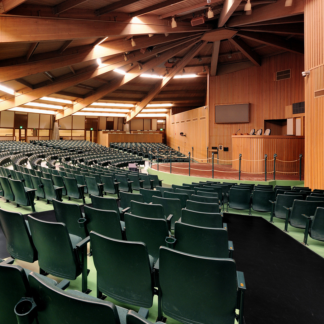 The Keeneland Sales Arena