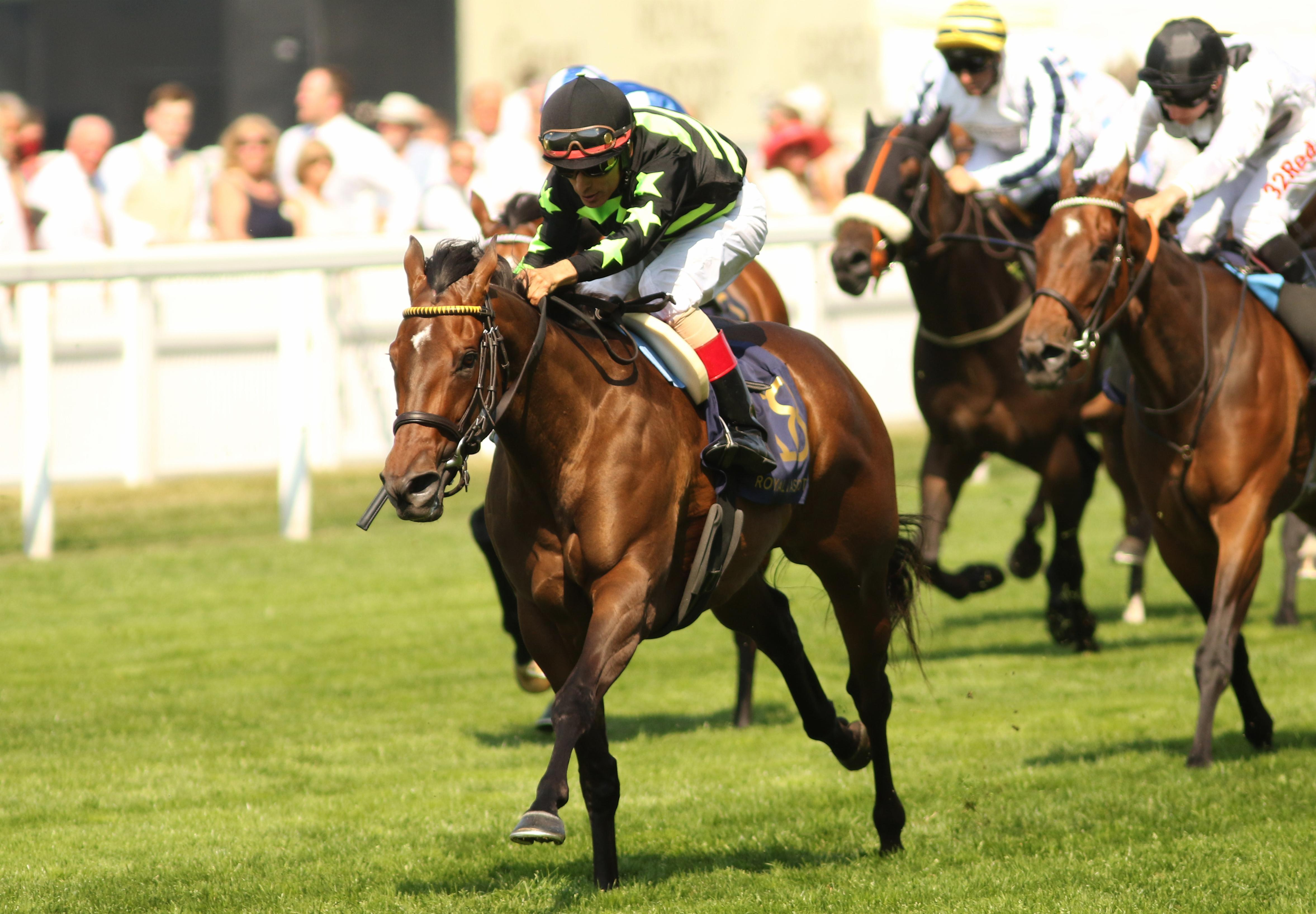 Lady Aurelia wins at Royal Ascot