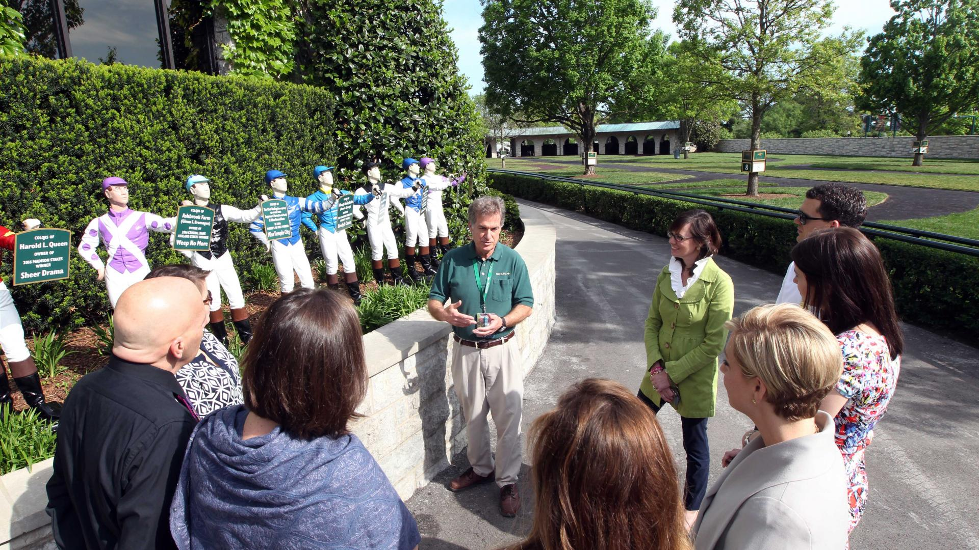 Tour of Keeneland