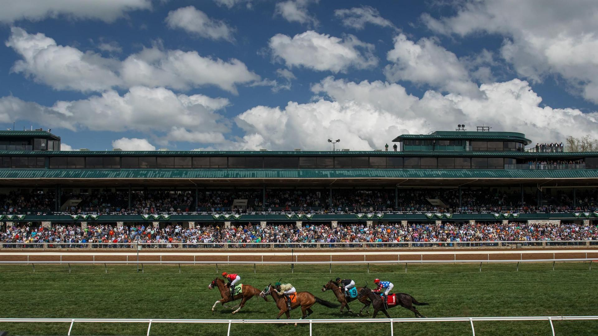 Spring turf racing at Keeneland