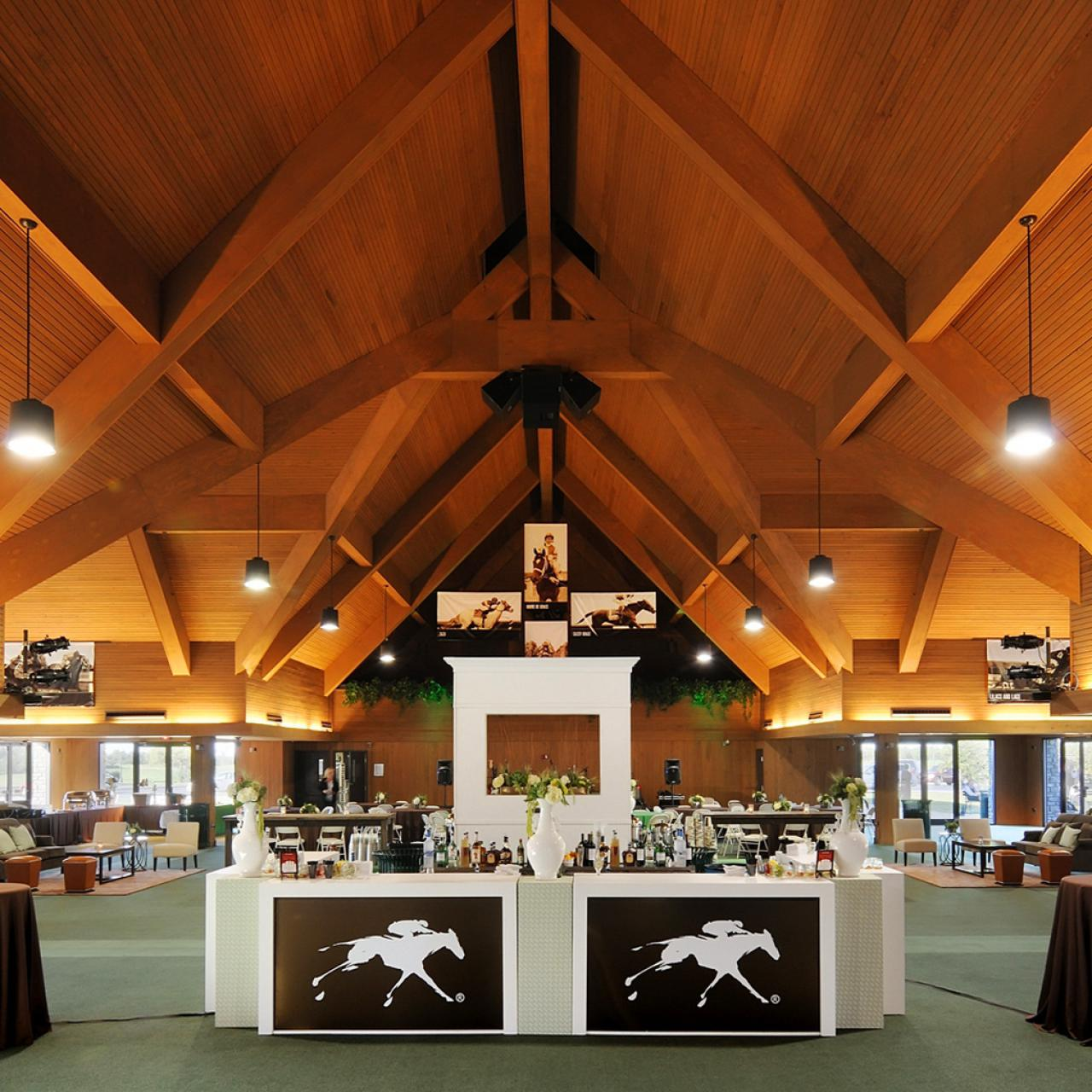 Keeneland Entertainment Center and Keene Barn