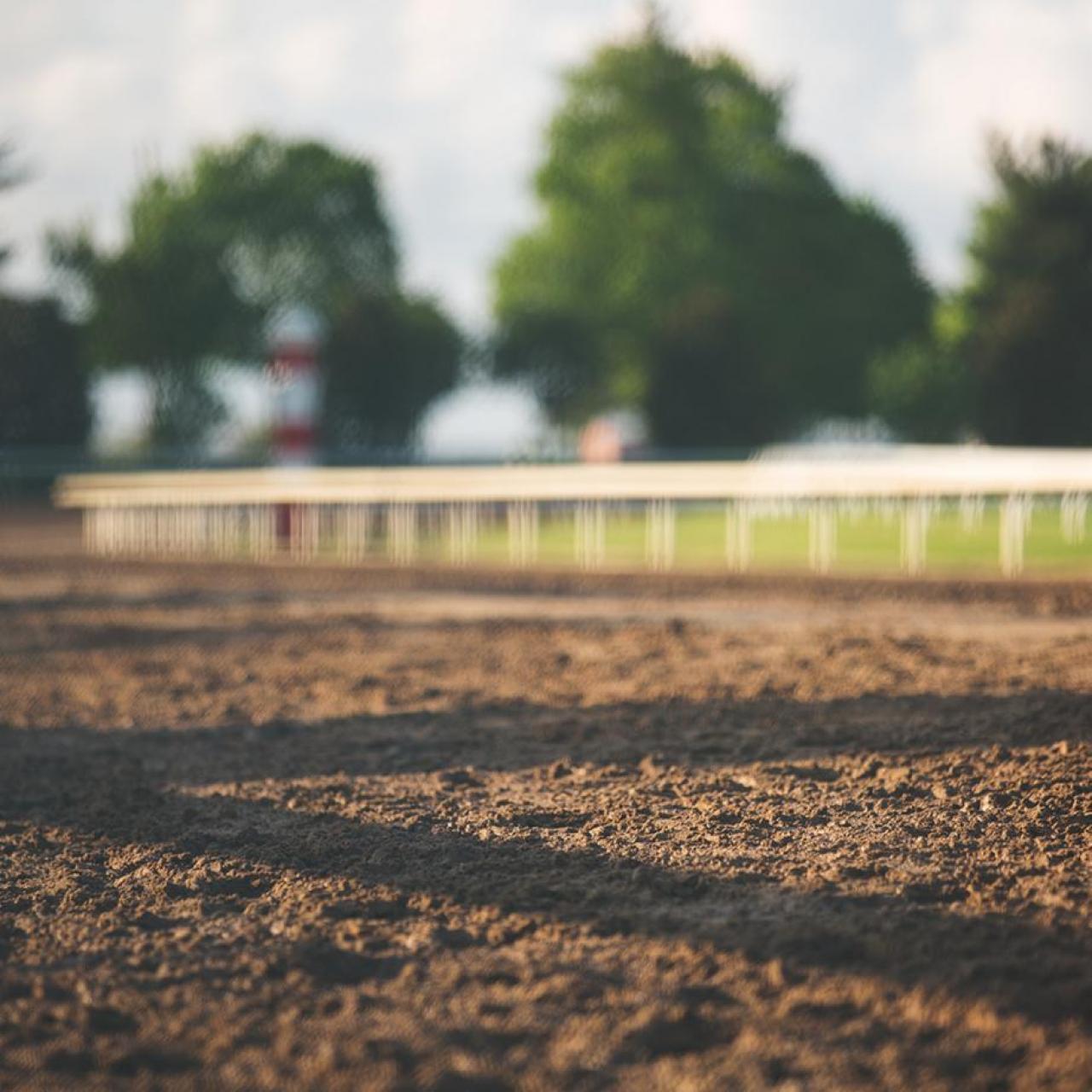 Keeneland dirt track