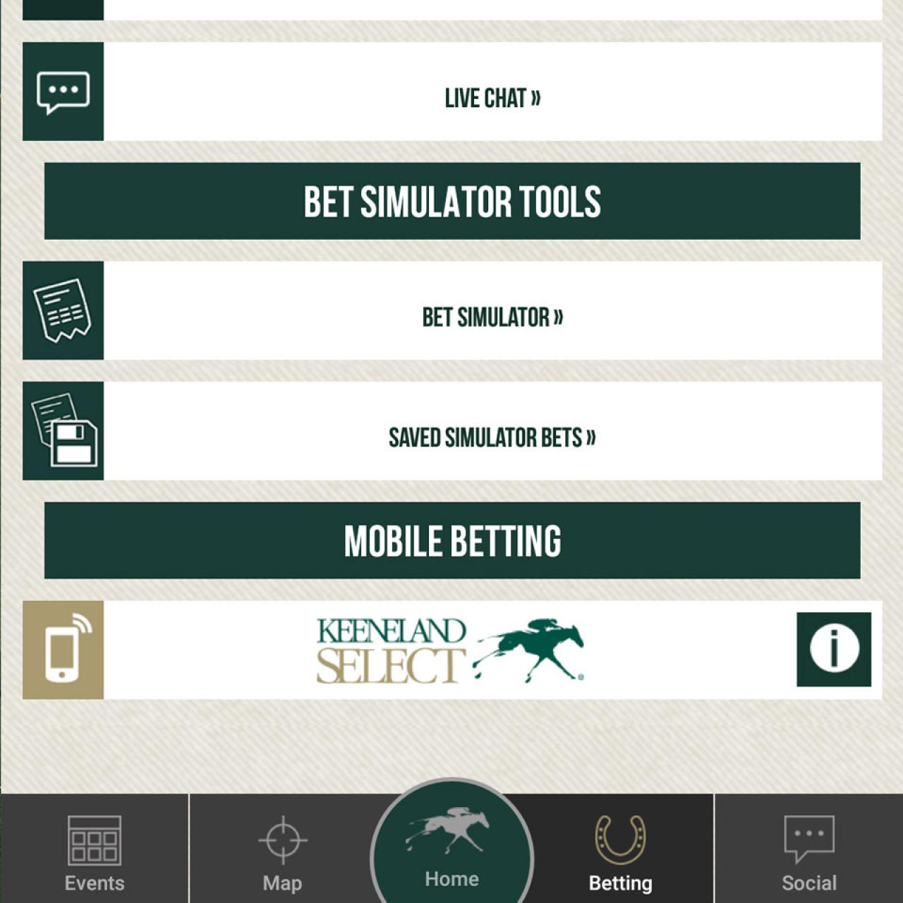 Race Day App Mobile Betting