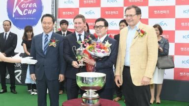 Keeneland Korea Cup presentation