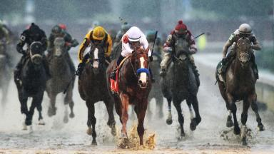 Justify wins the Kentucky Derby