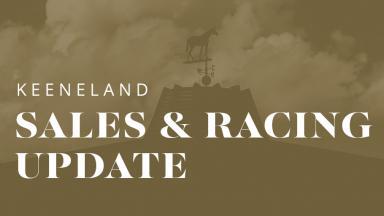 Keeneland sales update