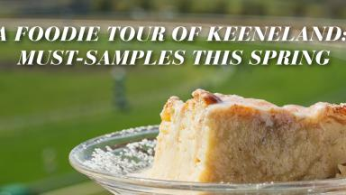 Keeneland bread pudding
