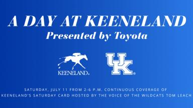 A Day at Keeneland Presented by Toyota
