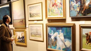 sporting art auction