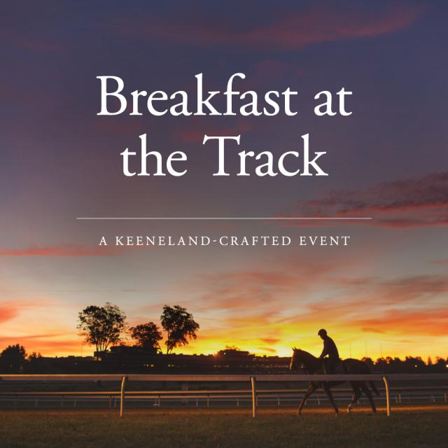 breakfast at the track