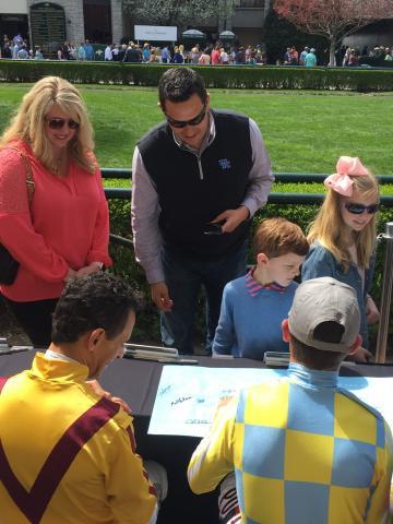 Jockey Signing