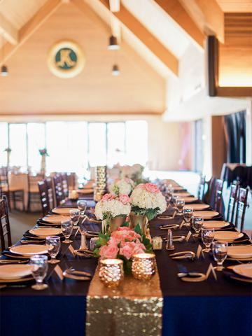 Keeneland Wedding Reception