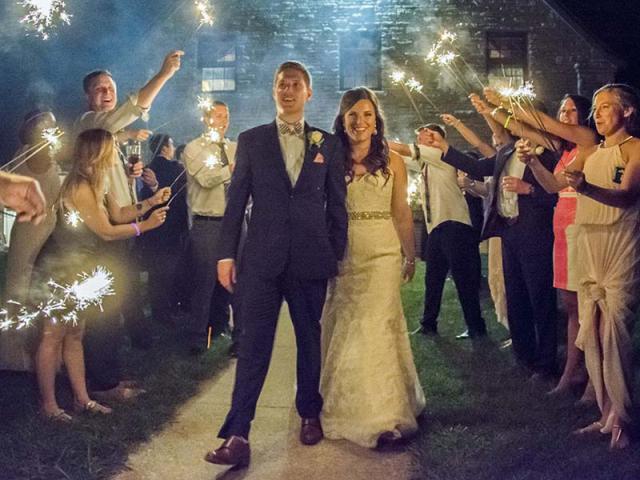 Kristen & Jonathan Keeneland Wedding
