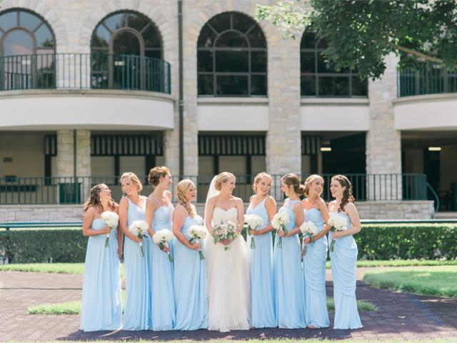 Abby and Bridal Party at Keeneland