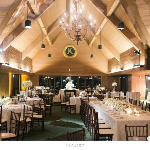 Wedding in the Keeneland Entertainment Center