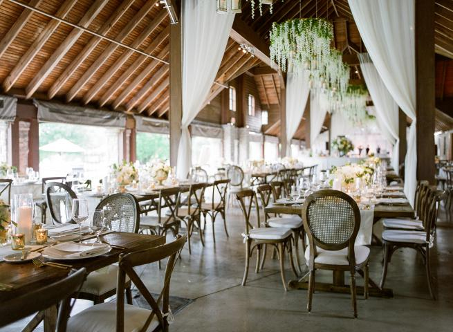 Entertainment Center & Keene Barn Wedding