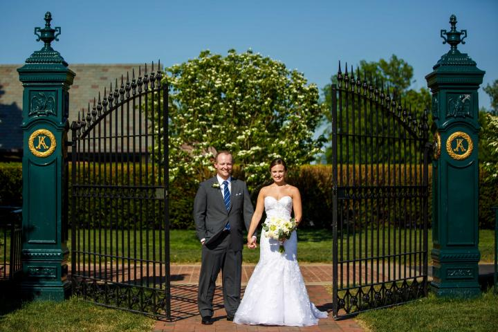 Couple at Keeneland Gates