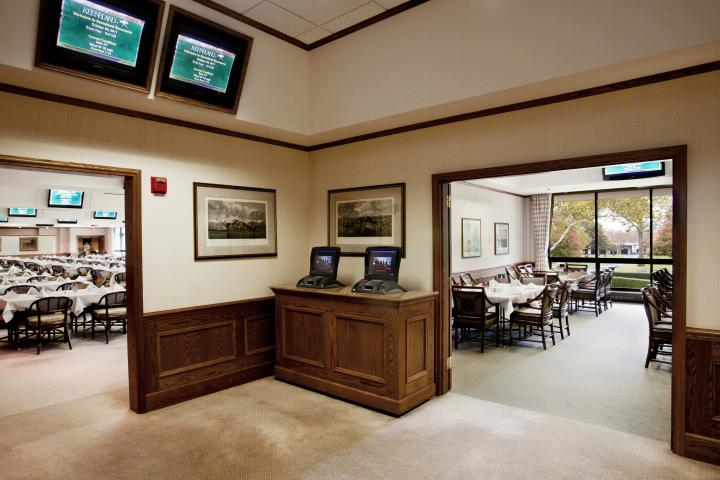 Life Members Room in Second Floor Clubhouse