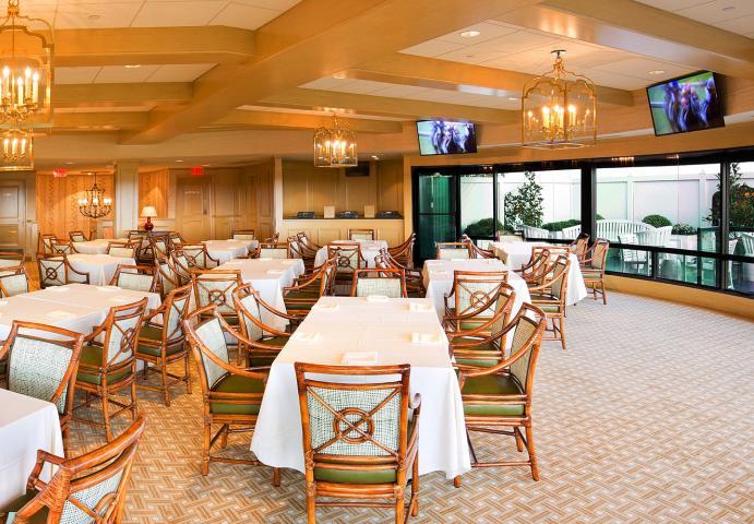 Example of Keeneland hospitality room