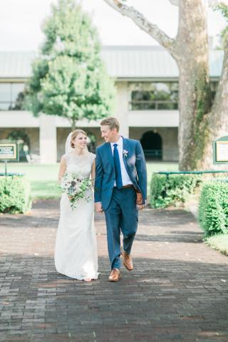 Keeneland Wedding