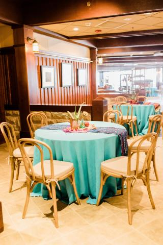 Event Table in the Pavilion Bar