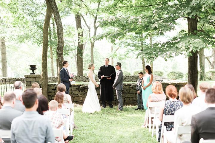wedding ceremony keene place