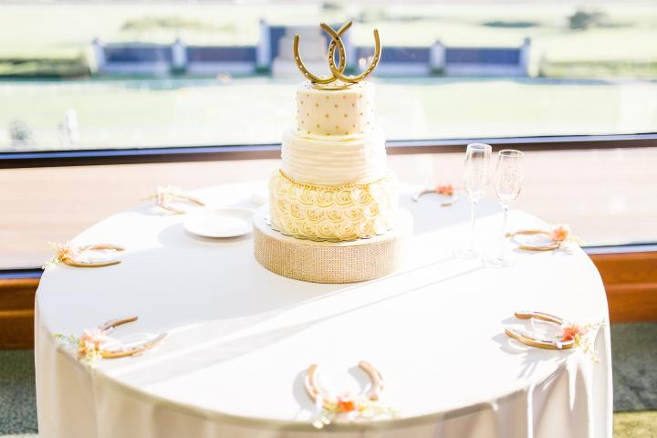 Wedding Cake in the Lexington/Kentucky Room