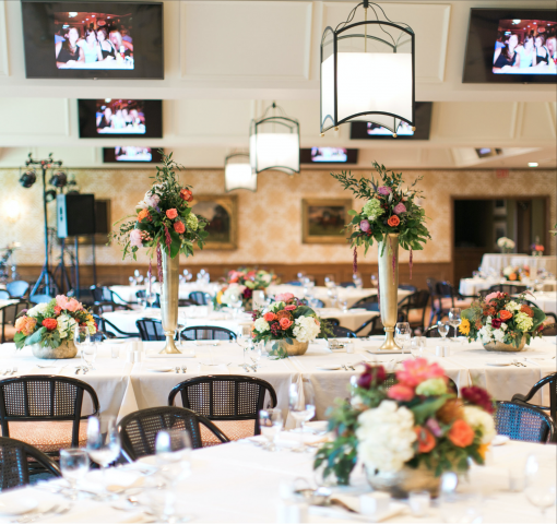 Second Floor Clubhouse Floral Arrangements