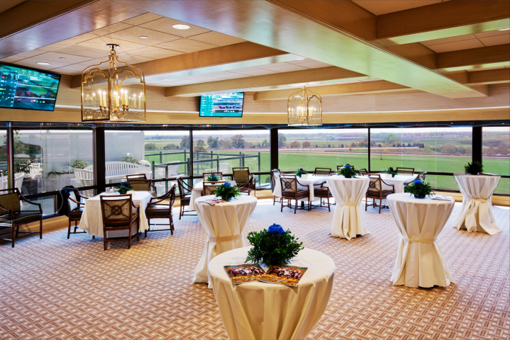 Cocktail Tables in Keeneland Room