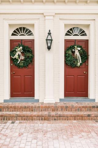 Keene Place Front Doors