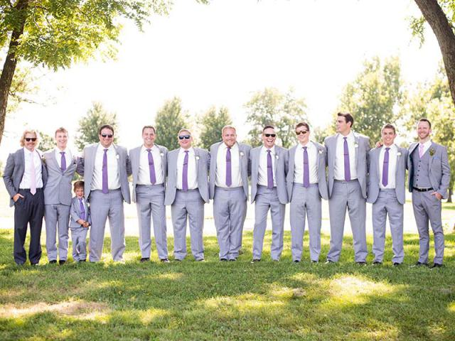 Andrew and his Groomsmen