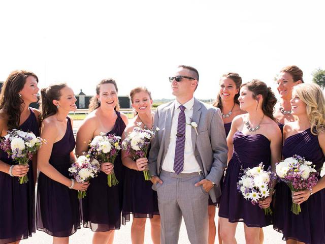 Andrew and Bridesmaids