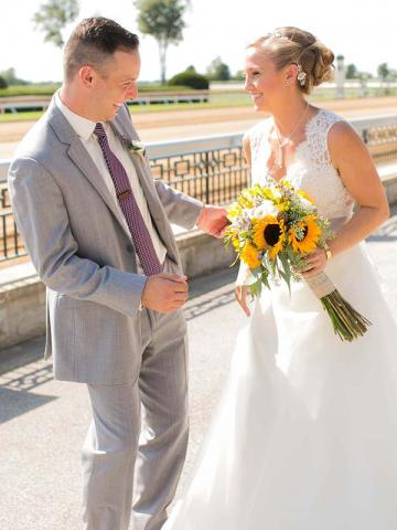 Keaton and Andrew's Keeneland Wedding
