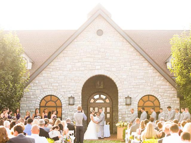 Keaton and Andrew's Keeneland Wedding Ceremony