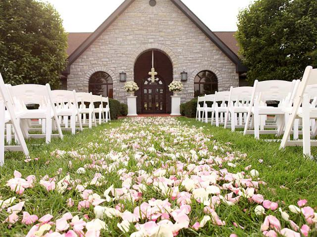Keeneland Outdoor Wedding