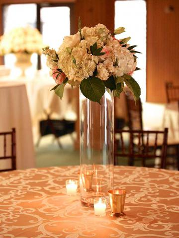Flowers at Keeneland Wedding
