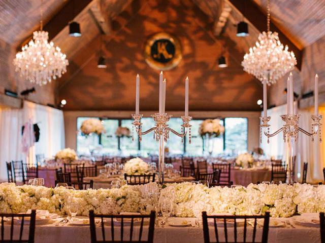 Wedding Reception at the Entertainment Center