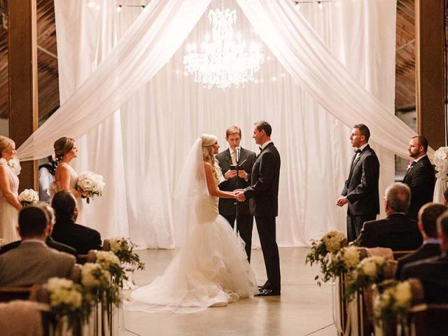 Brooke & Drew's Wedding in Keene Barn