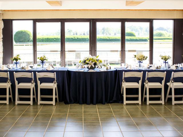 Bridal Party Reception Table