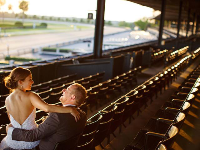 Amanda & Alex at Keeneland