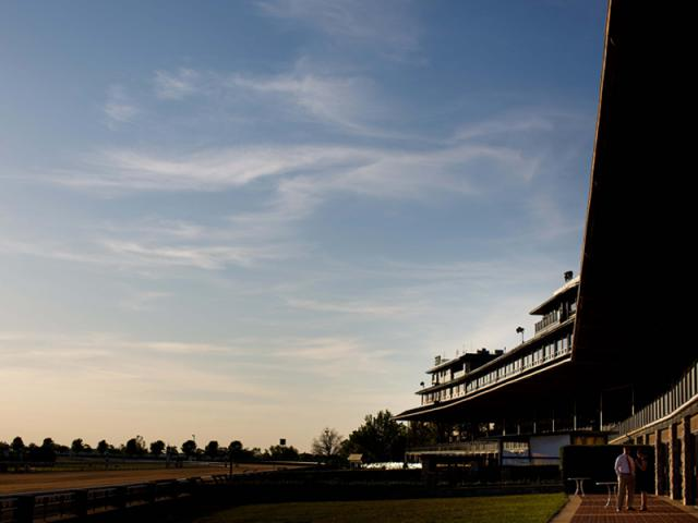 Keeneland at Dusk