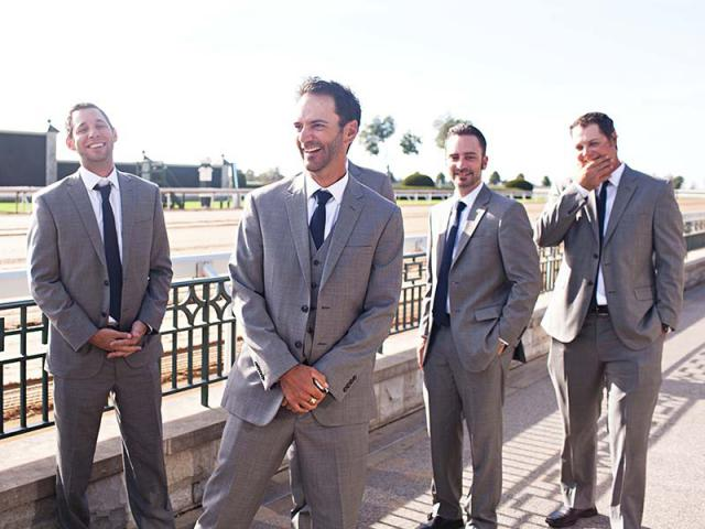 Julien and his groomsmen