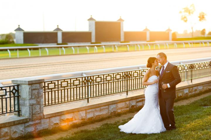 Keeneland Couple