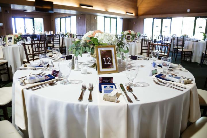 Keeneland Wedding Reception Tables